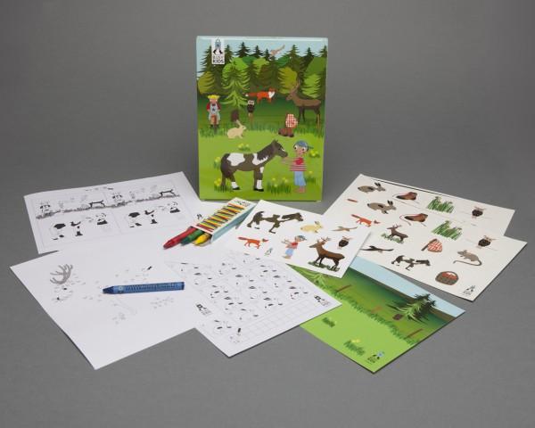 Activity Box - Einzel: Wald&Wiese