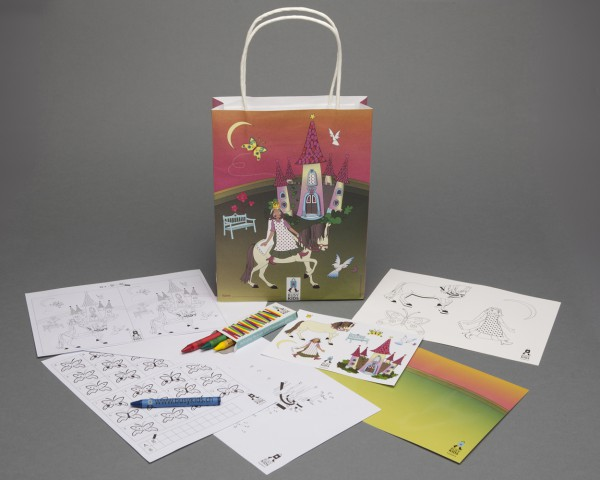 Activity Bags - Einzel: Prinzessin